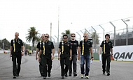 Гран При Австралии 2012 среда 14 марта Хейкки Ковалайнен Caterham F1 Team