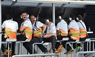 Гран При Малайзии 2013г. Пятница 22 марта вторая практика  Sahara Force India F1 Team