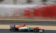 Гран При Бахрейна  2012 г суббота 20 апреля  квалификация  Пол ди Реста Sahara Force India F1 Team