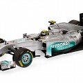 Mercedes-Benz W02, showcar, N. Rosberg, 1:43