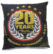 "Подушка ""20th Anniversary"", Michael Schumacher"