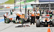 Гран При Малайзии 2013г. Пятница 22 марта вторая практика Пол ди Реста Sahara Force India F1 Team