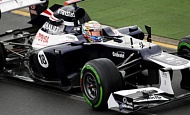 Гран При Австралии 2012 пятница 16 марта  Пастор Мальдонадо Williams F1 Team