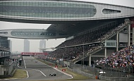 F1 2011 - Shanghai track - 3D lap - Chinese Grand Prix.flv