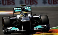 Гран При Валенсии 2011г  гонка Mercedes GP Petronas F1 Team Нико Росберг