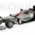 Mercedes-Benz W01, M. Schumacher, 1:43