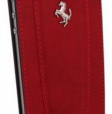 Чехол для iPhone 4/4s, etui flap, red,