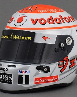 "Шлем Jenson Button ""Japan Victory 2011"","