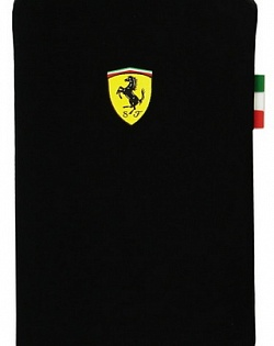Чехол для iPhone 3G/3GS/4, Scuderia V1, black,