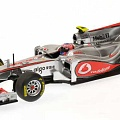 McLaren MP4-26, showcar, J. Button, 1:43