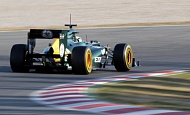 Барселона, Испания  Хейкки Ковалайнен Caterham F1 Team