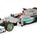 Mercedes-Benz W03, M. Schumacher, 2012, 1:43